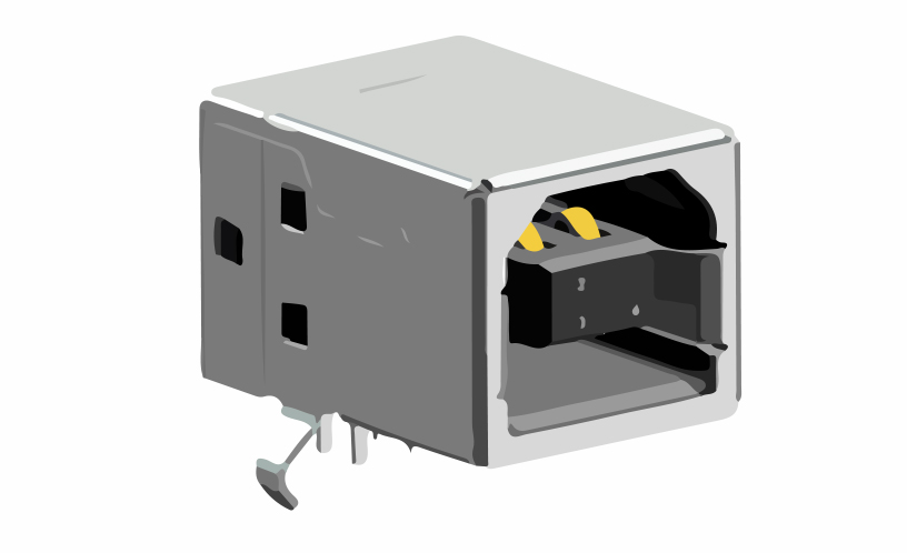 Picture of 2094 - CONNECTOR USB B-TYPE