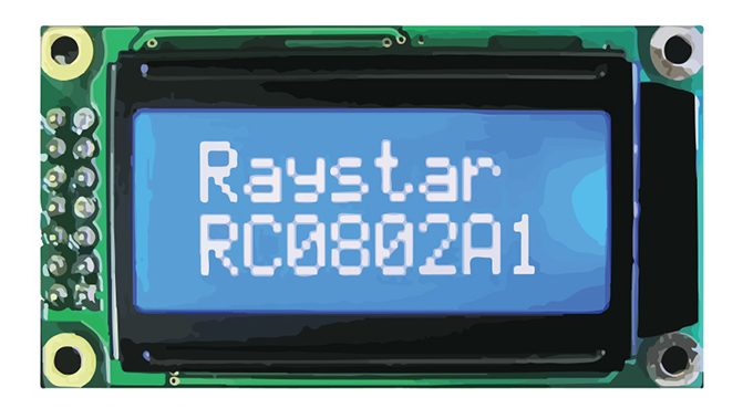 Picture of 3220 - DISPLAY LCD MODULE CHARACTER