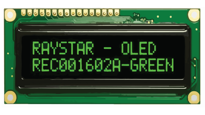 Picture of 3300 - DISPLAY OLED CHARACTER