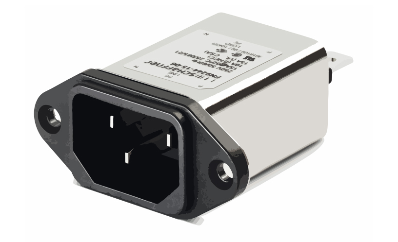 Picture of 3630 - FILTER IEC INLET