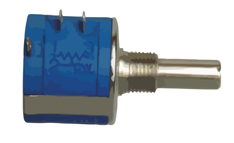 Picture of 6420 - POTENTIOMETER CERM MULTI TURNS