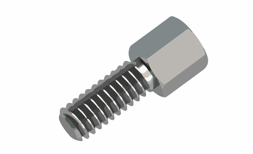 Picture of 7820 - SPACER METAL MF 3MA CH5