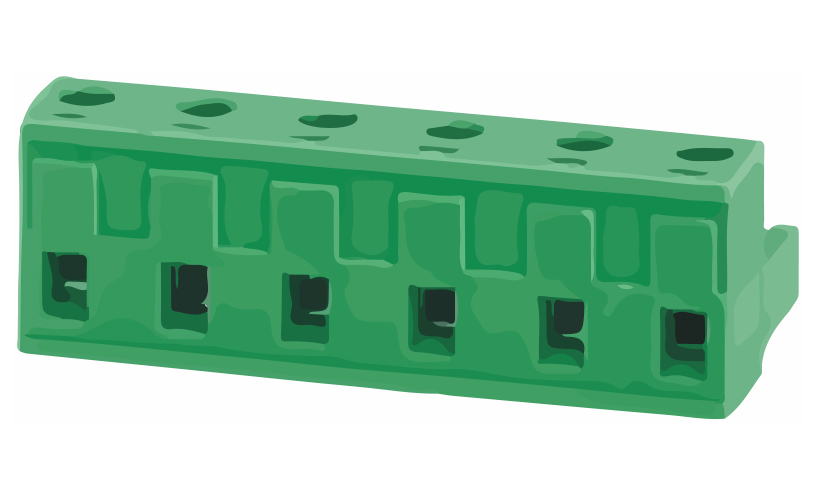 Picture of 8210 - TBLOCK PLUG FEM R/A 90° P7,62