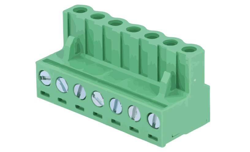 Picture of 8214 - TBLOCK PLUG FEM STRAIGHT P5,00