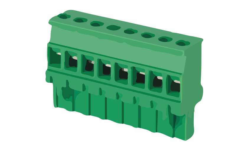 Picture of 8215 - TBLOCK PLUG FEM STRAIGHT P5,08