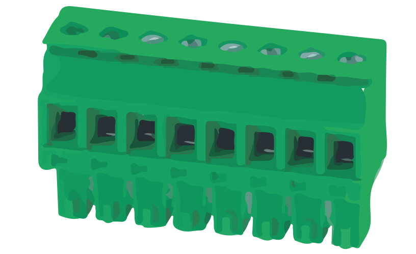 Picture of 8270 - TBLOCK PLUG FEM STRAIGHT P3,5