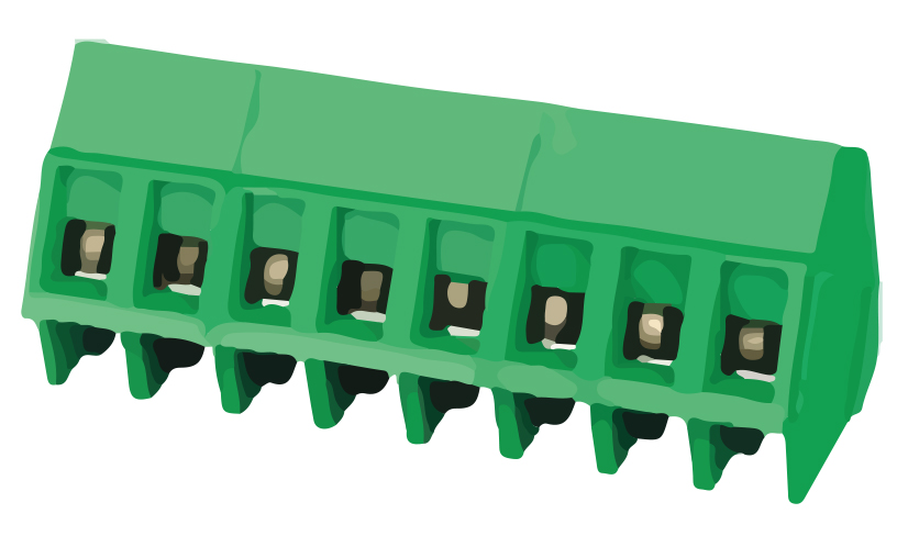 Picture of 8275 - TBLOCK PCB D103 P5MM